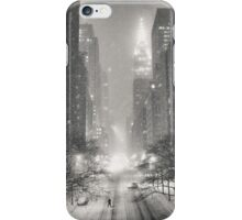 A Winter's Tale - New York City iPhone Case/Skin