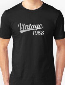 Vintage 1958 Unisex T-Shirt