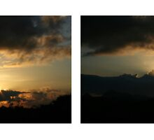 Sunset 4-takes by Nickoy