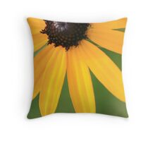 Golden fingers Throw Pillow