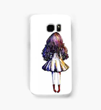 Girl and Red Doc Samsung Galaxy Case/Skin