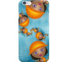 Inner Child - Going Fishing on a Beautiful Day iPhone Case/Skin