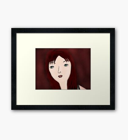 NeverEasy Framed Print