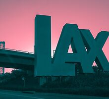 Flying out of LAX by Andrew Gregor