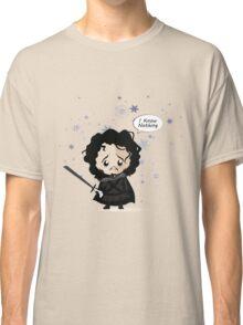 Jon in the Snow Classic T-Shirt