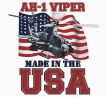 AH-1Z Viper Made in the USA One Piece - Short Sleeve