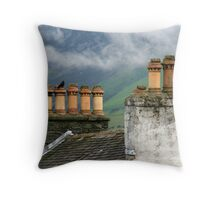 Chimneys Throw Pillow