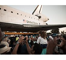 Space Shuttle Endeavour Photographic Print