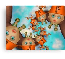 Inner Child - Little Firefighters at Rest Canvas Print