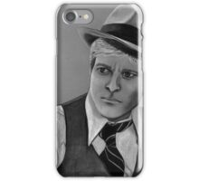 Robert Redford celebrity portrait 124 views iPhone Case/Skin