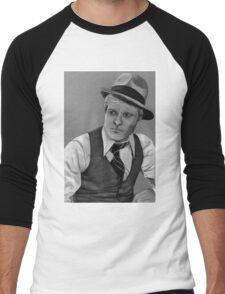 Robert Redford celebrity portrait 124 views Men's Baseball ¾ T-Shirt