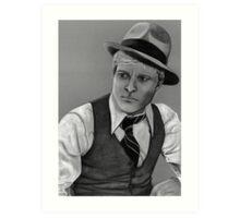 Robert Redford celebrity portrait 124 views Art Print