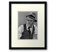 Robert Redford celebrity portrait 124 views Framed Print