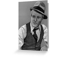 Robert Redford celebrity portrait 124 views Greeting Card