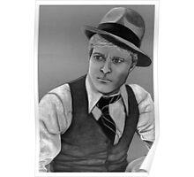 Robert Redford celebrity portrait 124 views Poster