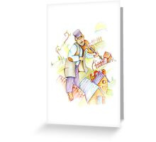 Fiddler on the Roof Greeting Card