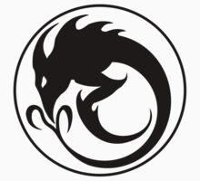 Sliver Ouroboros Symbol -Black- by ChronoStar