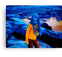 Blue Morgan Canvas Print