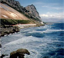 Eastside,Gibraltar by migueldelmonte