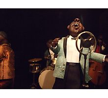 Jazz Singer Volume 2 Photographic Print