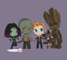 Guardians of the Galaxy Chibis by KlockworkKat Kids Clothes