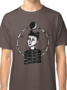 ~ Puffa Girl ~ original ink drawing design Classic T-Shirt