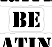 Right Now, I'd Rather Be Eating Seafood - Black Text Sticker