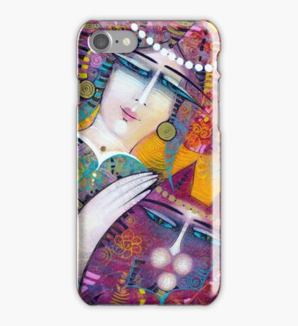 KATY AND THE CAT iPhone Case/Skin