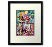 Magical Forest Framed Print