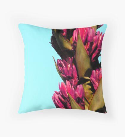 Agave flower Throw Pillow