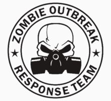 Zombie Outbreak Response Team gas mask Kids Tee