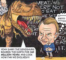 'MEAT, WE WERE 'NOT' MEANT TO EAT IT!' continued... by andrea v