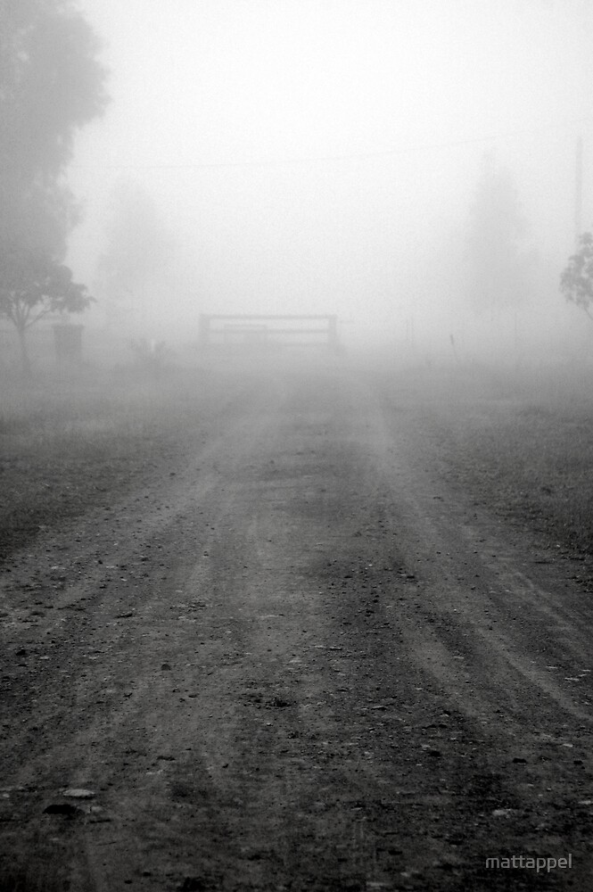 Foggy Road by mattappel