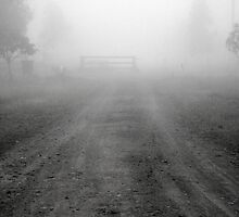 Foggy Road by mattappel