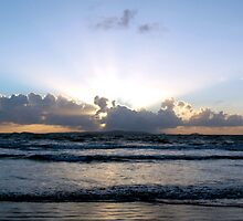 Ocean at Dawn by mattappel