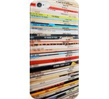 Jazz Vinyl Records iPhone Case/Skin