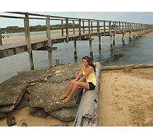 Urunga Boardwalk Photographic Print