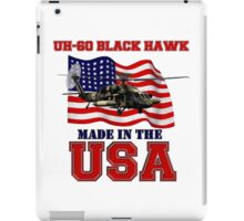 UH-60 Black Hawk Made in the USA iPad Case/Skin