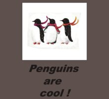 Penguins are cool  Kids Clothes