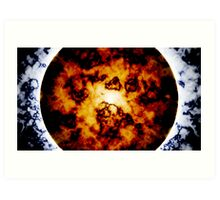 Planetary Collapse Poster Art Print