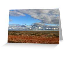 The Far Horizon Greeting Card