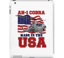 AH-1 Cobra Made in the USA iPad Case/Skin