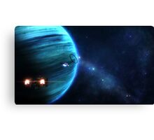 Delta Halo Canvas Print