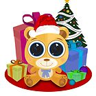 Teddy Bear  - Christmas by Adamzworld