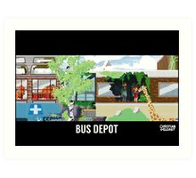 The Last Of Us Demastered - Bus Depot Art Print