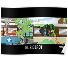 The Last Of Us Demastered - Bus Depot Poster