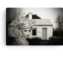 Hat proud and house proud Canvas Print