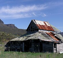 photoj, Tasmania, Meander Valley Mountain View by photoj