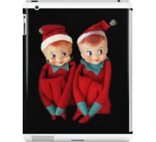 CHRISTMAS ELVES PILLOW AND OR TOTE BAG THE MAJIC OF CHRISTMAS iPad Case/Skin