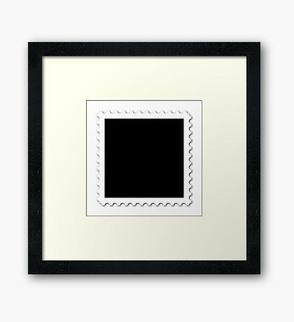 Stamp Framed Print
